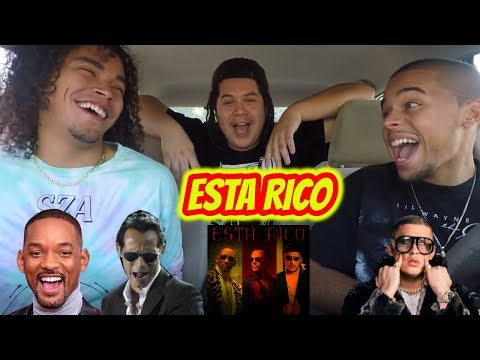 Marc Anthony, Will Smith, Bad Bunny - Está Rico (Official Video) Reaction Review Mp3