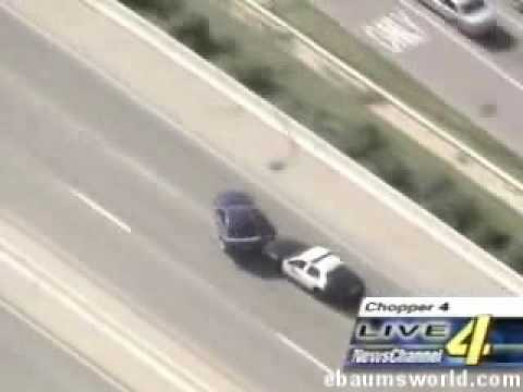 Oldie but goodie: This mustang driver who shamed police on the pit maneuver. Was caught!