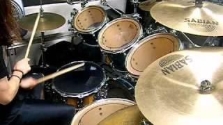 Darkane - Bound(drum cover)