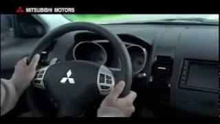 Mitsubishi TV ad featuring Chris Madin