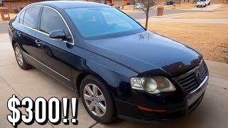 $300 Copart Win!! 2007 Volkswagen Passat 2.0t FSI *BIO / MOLD*