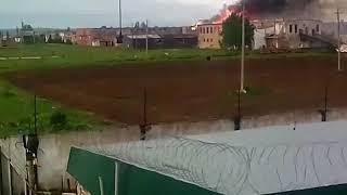Пожар в ИК-8