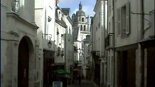 preview picture of video 'Loches, Indre et Loire, Centre, France'
