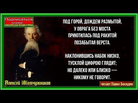 Алексей Жемчужников  Верста на старой дороге  читает Павел Беседин