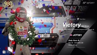 JOT381 GRAN TURISMO SPORT 131218 SUZUKA AUDI TT 1st to 1st ONLINE RACE 4 LAPS 980th WIN