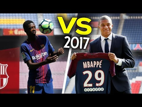 Ousmane Dembélé VS Kylian Mbappé - The Battle of Wonderkids ● Crazy Skills Show 2017 | HD