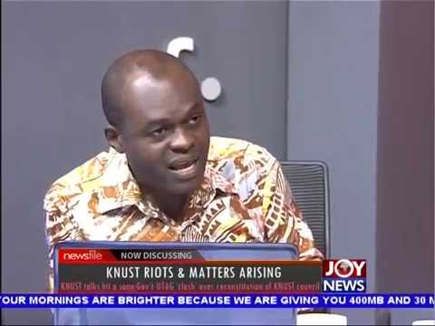KNUST Riots & Matters Arising - Newsfile on JoyNews (3-11-18)