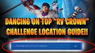 Fortnite Dance On Top Of A Crown Of Rvs 免费在线视频最佳电影电视