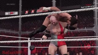 WWE 2K15 [SIMULATION] - CM Punk vs Ryback - Hell In A Cell 2013 Highlights [HD]