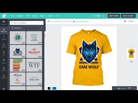 How to Make a T-Shirt Printing, Designing eCommerce Website with WordPress - Lumise WooCommerce 2019