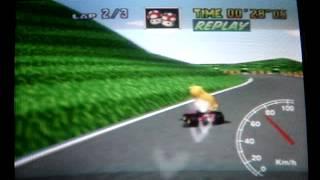 "Mario kart 64 - MR SC 3lap - 1' 00"" 91"