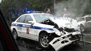 Полицейские ДТП. Аварии с гаишниками