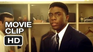 42 Movie CLIP - You Must Be Looking For Your Locker (2013) - Jackie Robinson Movie HD