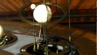 preview picture of video 'Hertford Museum Orrery in Motion'