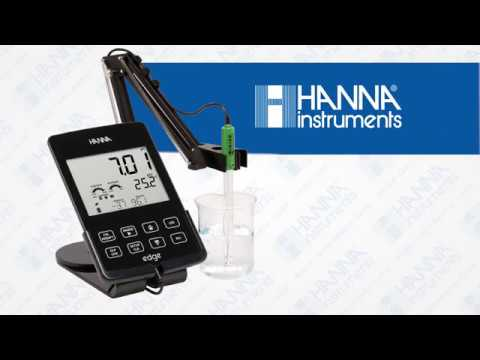 Principio de medición de un electrodo de pH combinado