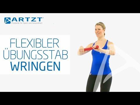 TheraBand Flexibler Übungsstab - Wringen