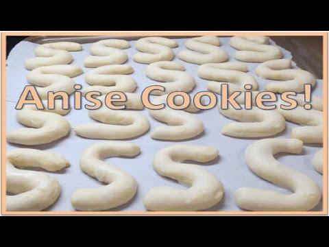 Anise Cookie Recipe aka Grandma's Cookies!