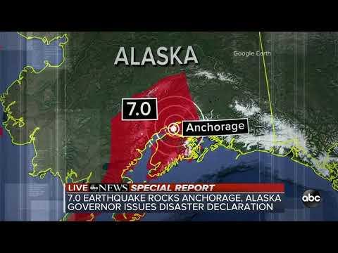 Massive 7.0 earthquake rocks Anchorage, Alaska | Special Report
