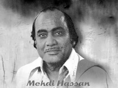 Gulon mein rang bhare   live Mehdi Hassan by shaleem