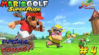 Virtua Couch: Mario Golf Super Rush! Speed Golf! - YoVideogames