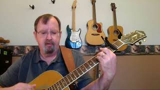 Ain't Goin' Down This Time - acoustic cover - Tony Joe White