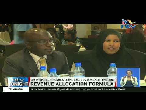CRA proposes revenue sharing based on devolved functions