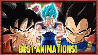 BEST SUMMON ANIMATIONS IN DOKKAN BATTLE! | Dokkan Battle List