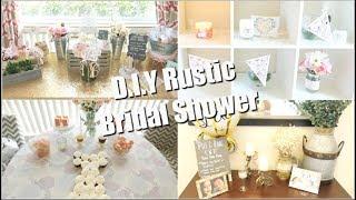 D.I.Y Rustic Bridal Shower / Shower Haul