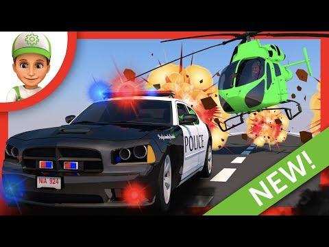 Auto Polizei. Polizeiwagen Trickfilme. Polizei auto für kinder. Auto trickfilm. Kinder auto Polizist