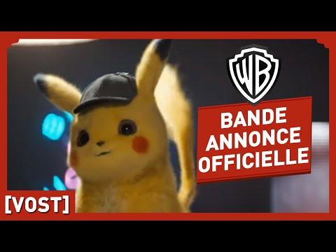 Détective Pikachu - Bande Annonce - Casting (VOST)