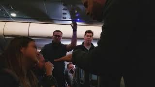 AA Flight #770 - SFO to PHL - Obnoxious Passenger