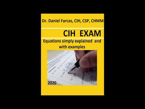 CIH EXAM Equations simply explained and with examples - YouTube