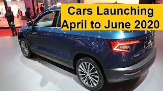 Upcoming Car Launches from April to June 2020. Over 10 Car Launches