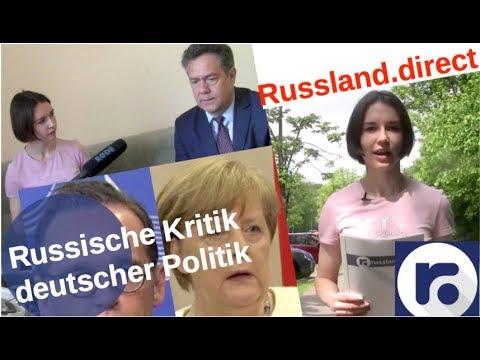 Russische Kritik der aktuellen deutschen Politik [Video]