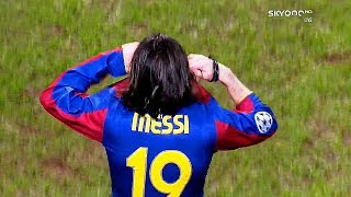 What Ronaldo Could Not Do in His Whole Life , Messi Did at 19 ¡!