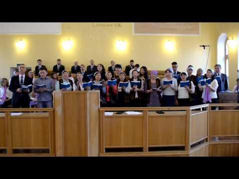Грузины в церкви