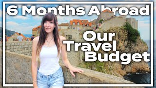 How Much Did It Cost?! 6 Months Traveling Abroad