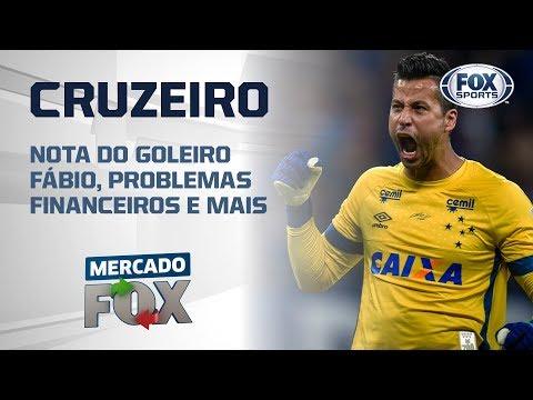 Cruzeiro: nota do goleiro Fábio, problemas financeiros e mais