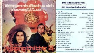 Miên Đức Thắng & Sơn Ca – Việt Nam Như Đóa Hoa Xinh – Thu Âm Trước 1975