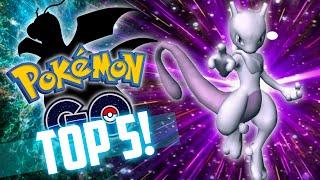 TOP 5 Strongest Pokemon in Pokemon Go!