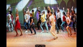 Сальса анимация. Закрытие концерта. Школа танцев Dance Life в Белгороде! Сальса танец с нуля