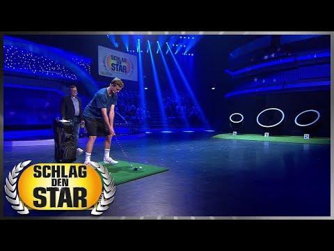 Erhöhte Verletzungsgefahr | Golfbälle chippen  - Schlag den Star