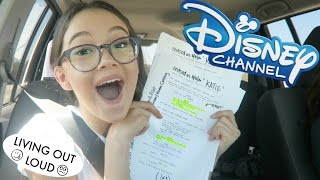 Road Trip For Disney TV Audition + Coaching + Shopping at Americana LA!!   Acting Auditions w/ Fiona
