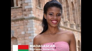 Samantha Todivelou Contestant from Madagascar for Miss World 2016 Introduction