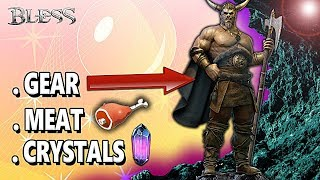 BLESS ONLINE:  NEW CONDENSED MAGIC STONE FARMING LOCATION!! (BEST)