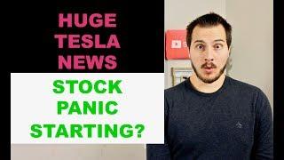 TESLA BUYING GM PLANT? STOCK MARKET PANIC STARTING?