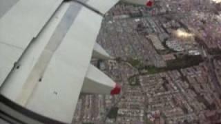 preview picture of video 'Taking off from Bogota - Despegando de Bogotá'