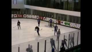 preview picture of video '[period 1] - Maalot Monfort vs Bat-Yam Icebergs, 25-01-2013'