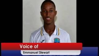 Emmanuel Stewart Named Captain of West Indies Under Nineteen Team.....Special Report