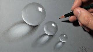 Comment dessiner des billes transparentes Réalistes [Tutoriel]